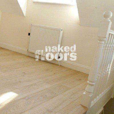 Natural Oak Wood Flooring Sample
