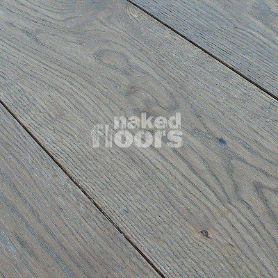 Repro Reclaimed Grey Barn Oak Engineered Wide Plank Wood Floors Laid