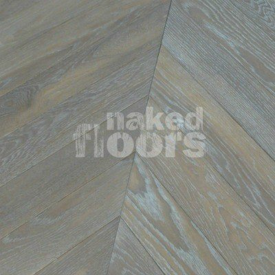Sol Crayeux Anglais Chevron Parquet' Engineered Parquet Floors Laid