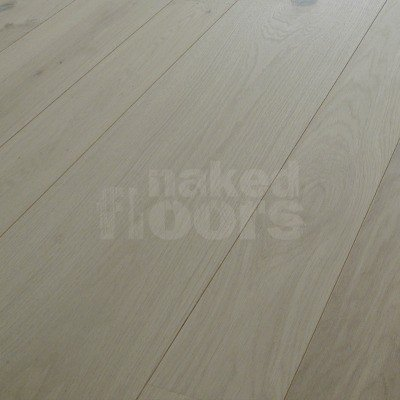 Unfinished Engineered Oak Flooring Laid