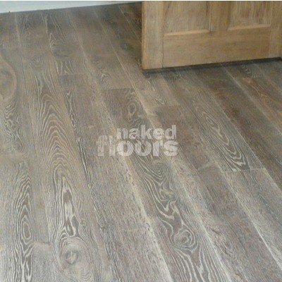 White Fumed Oak Flooring Laid