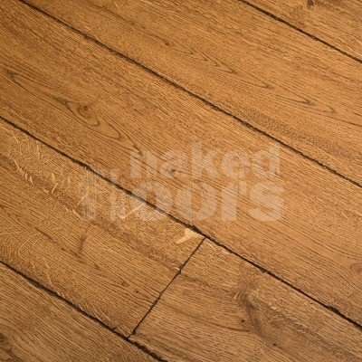 Wide Oak Flooring Laid