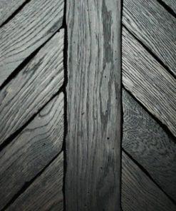 Londinium Noir Chevron Parquet