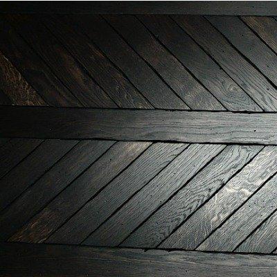 Londinium Noir Meval Chevron Parquet