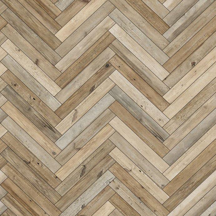 Close up Wooden floor herringbone pattern