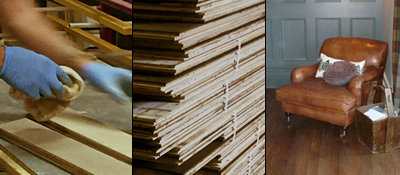 engineered wood flooring production, shipping and installed