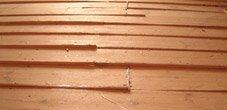 Naked Floors floor sanding company - Gap Filling