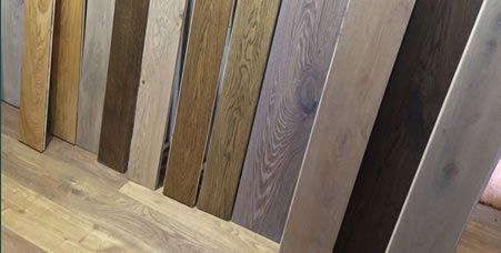 View of full size hardwood floorboards