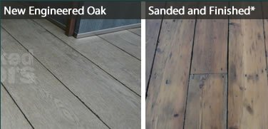 Naked Floors - Floor Sanding and Replacement - Dark Hardwood