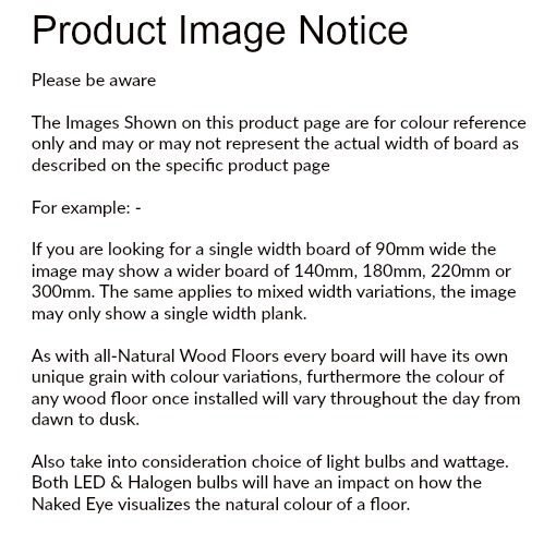 Product Image Notice