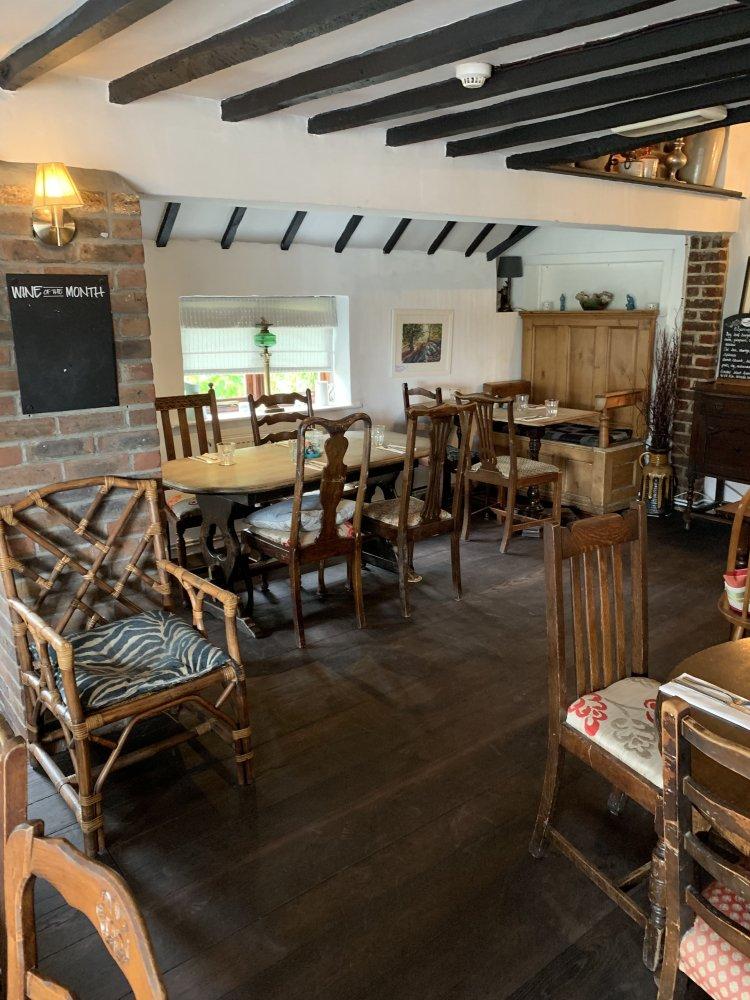Reclaimed floors for pub renovation