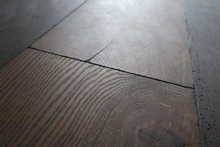 Sussex Burnt Oak Repro Reclaimed Floorboards by Naked Floors