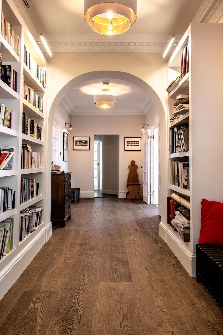 Wide plank flooring for period homes