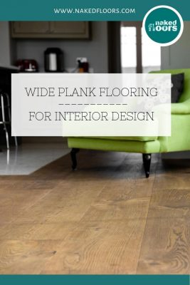 Wide plank Engineered wood flooring