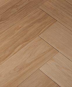 120mm Wide Herringbone Unfinished Engineered Oak Flooring
