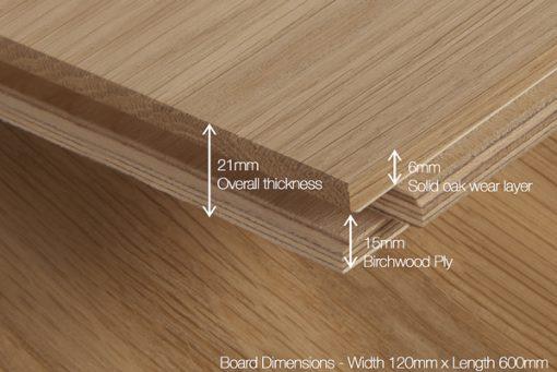 Unfinished Herringbone Parquet Wood Flooring-4