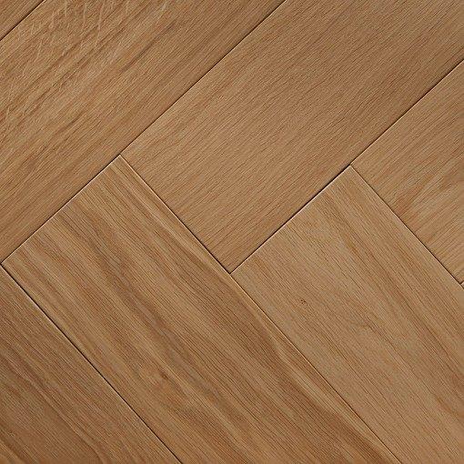 Unfinished Herringbone Parquet Wood Flooring 3