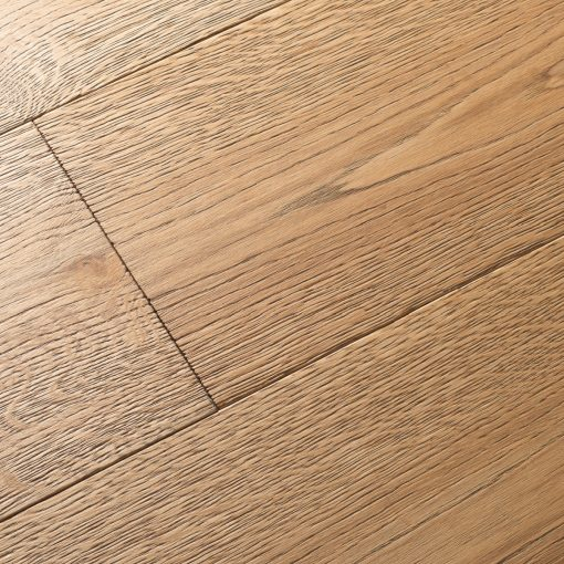Light Washed Beach Grey Engineered Wood Flooring Diagonal Detail