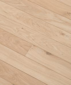 Unfinished Engineered Oak Flooring Laid Diagonal Zoomed Out