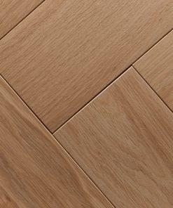 Unfinished Engineered Oak Flooring Herringbone Joins